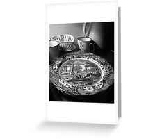 Still-life with crockery Greeting Card