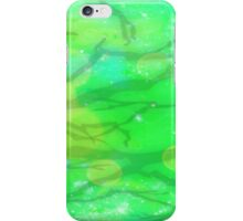 Green Thumbed Veins iPhone Case/Skin