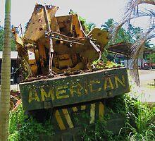 American in Rarotonga by niggle