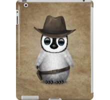 Cute Baby Penguin Wearing Cowboy Hat iPad Case/Skin