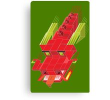 Cube dragon Canvas Print