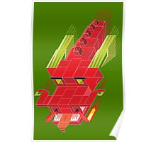 Cube dragon Poster