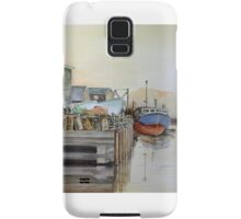 Fishing Boats in Peggy's Cove Samsung Galaxy Case/Skin