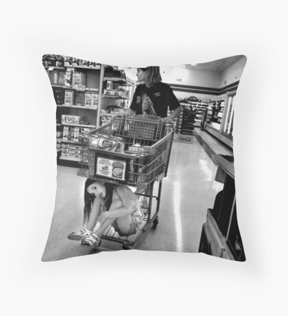 Condemned & Homeless Throw Pillow