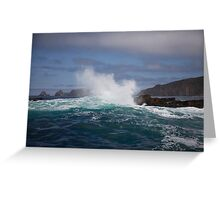 seascapes #202, deep water Greeting Card
