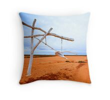Toorale Totem Throw Pillow