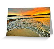 Magic - Balmoral Beach - The HDR Series Greeting Card