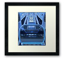 Open the pod bay doors please, HAL Framed Print
