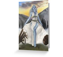 Cloud giant, part of the Giants Series Greeting Card