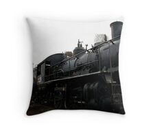 Old Steam Locomotive # 1229 Throw Pillow