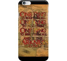 One Ring iPhone Case/Skin