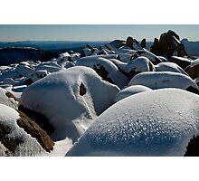 Winter Summit, Mt Ossa, Tasmania Photographic Print