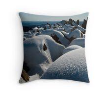 Winter Summit, Mt Ossa, Tasmania Throw Pillow