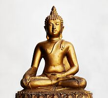 Sitting Buddha by Nicholas Richardson