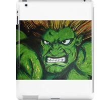 Blanka! Street Fighter Legend! iPad Case/Skin