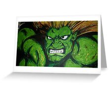 Blanka! Street Fighter Legend! Greeting Card