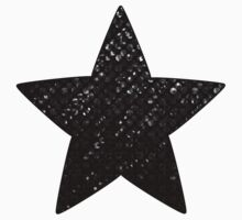 Black Crystal Bling Strass Kids Clothes