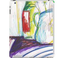 GREEN ONIONS STILL LIVE(C2013) iPad Case/Skin