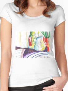 GREEN ONIONS STILL LIVE(C2013) Women's Fitted Scoop T-Shirt