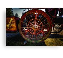 Traction Canvas Print