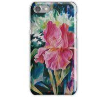 Pink Iris #144 iPhone Case/Skin