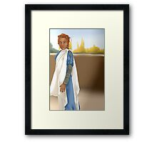 Asgardian Casual Framed Print