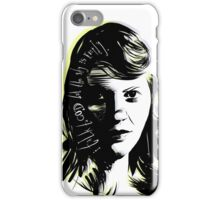"Sylvia Plath - ""I talk to God but the sky is empty"" iPhone Case/Skin"