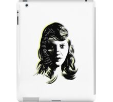 "Sylvia Plath - ""I talk to God but the sky is empty"" iPad Case/Skin"