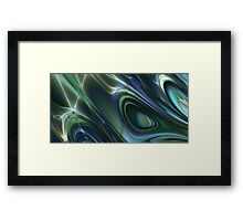 Like ink to water Framed Print