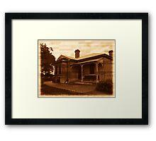 Heritage Property Framed Print