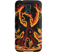 Charizard fire evolutions cool design Samsung Galaxy Case/Skin