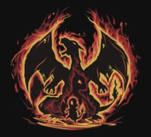 Charizard fire evolutions cool design T-Shirt