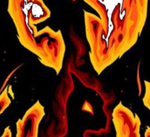 Charizard fire evolutions cool design Sticker