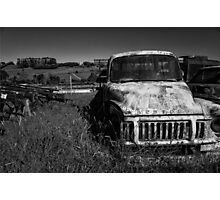 Truck Stop Photographic Print