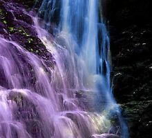 Colorful waterfalls by happyphotos
