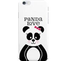 Panda Love iPhone Case/Skin