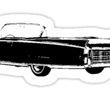 1963 Cadillac Convertible Sticker