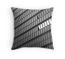 City Hall Abstract Throw Pillow