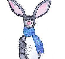 LITTLE GREY RABBIT by Hares & Critters
