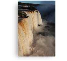 Iguazu Portrait Canvas Print