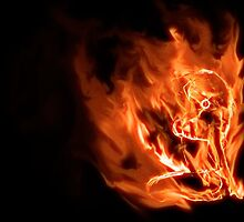 Girl on fire 3 by Tony Brown