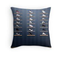 Air Jordan Legacy Poster Throw Pillow