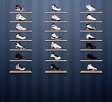 Air Jordan Legacy Poster by dyablade