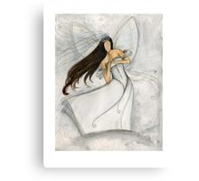 Angel Bride Canvas Print
