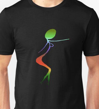 woman walking Unisex T-Shirt