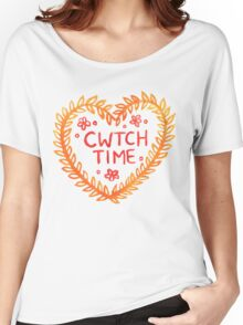 Cwtch time! Women's Relaxed Fit T-Shirt