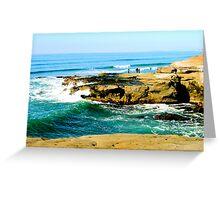 Saint Diego Greeting Card