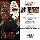 Colours of Africa INVITATION by Neil Elliott