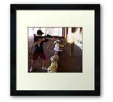 Never Too Young To Learn Framed Print