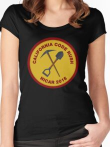 California Code Rush: NICAR 2015 Women's Fitted Scoop T-Shirt